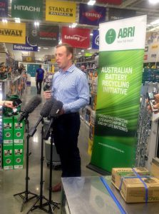 Minister launching at Masters