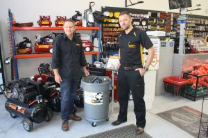 Dave Whelan and Jeremy Stewart from Trade Tools